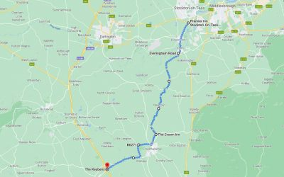 Day 2: Stockton on Tees to North Allerton