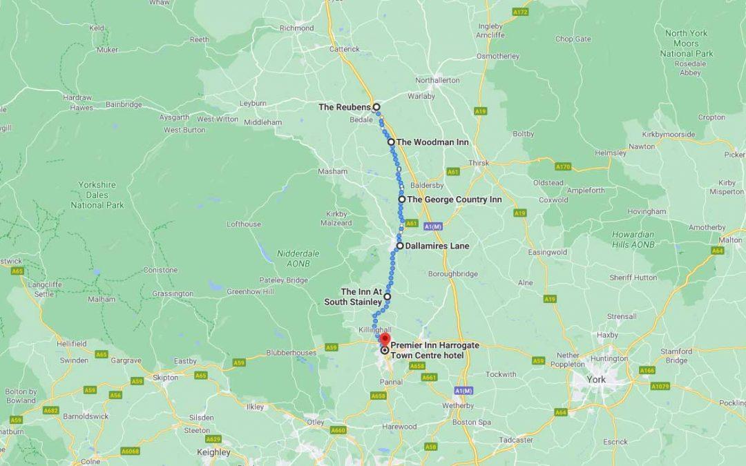 Day 3: North Allerton to Harrogate