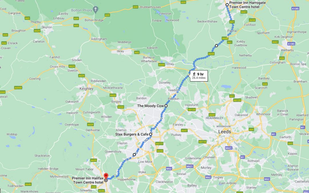 Day 4: Harrogate to Halifax