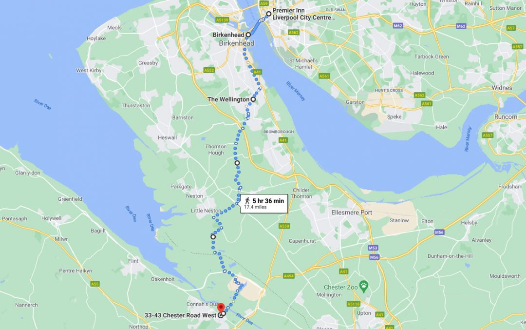 Day 7: Liverpool to Shotton